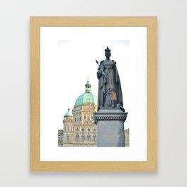 Victoria's Jewel Framed Art Print
