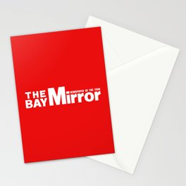 The Bay Miror Logo Stationery Cards