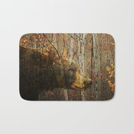 The Forest Bear Bath Mat