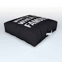 The Sudden Fame Outdoor Floor Cushion