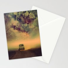 Journey to the universe Stationery Cards