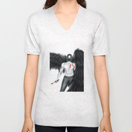 An Angel of Death Unisex V-Neck