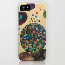 Don't look me iPhone Case