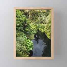 Calm waters Framed Mini Art Print