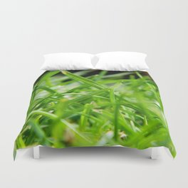 Grass Duvet Cover