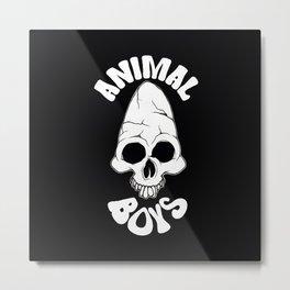 Animal Boys Metal Print