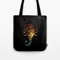 drive Tote Bags featuring Drive by Carlo Spaziani
