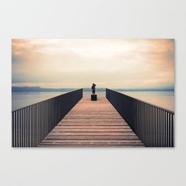 Lake of Neufchâtel SWITZERLAND Europe Canvas Print