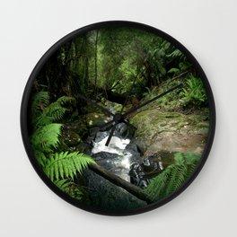 Cool Stream Wall Clock