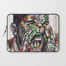 Shouting Man Laptop Sleeve