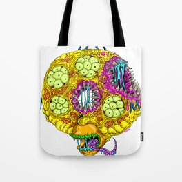 Monster Donut Tote Bag