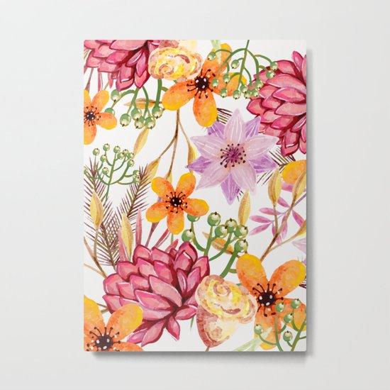 Flowers -a11 Metal Print