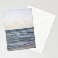Time you enjoy wasting, was not wasted. Stationery Cards
