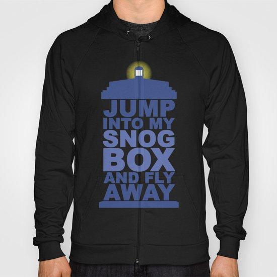 Snog Box (Tardis) Hoody