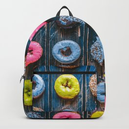 Vegan Donut Party Backpack