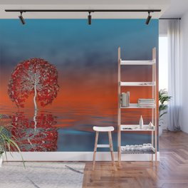 there was a tree -02- Wall Mural
