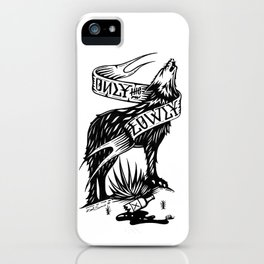 Only the Lowly iPhone Case