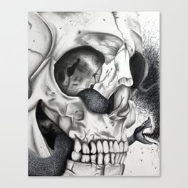 Swarming Psychedelic Canvas Print