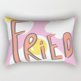 Fried Rectangular Pillow