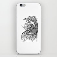 dragon iPhone & iPod Skins featuring Dragon. by sonigque
