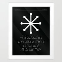 Lindot Typeface - 03 Art Print