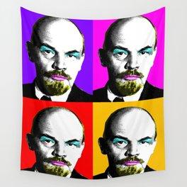 Ooh Mr Lenin x 4 Wall Tapestry