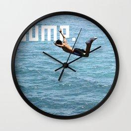J.U.M.P. Wall Clock