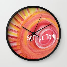 Set the Tone, Sunshine Wall Clock