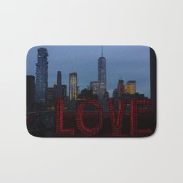 All you need is love, NYC Bath Mat