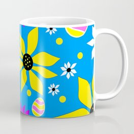 Easter Egg Hunt - Happy  Easter Design Coffee Mug