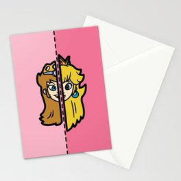 Old & New Princess Peach Stationery Cards
