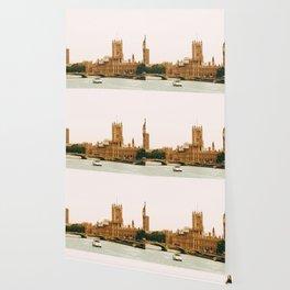 Sepia London England Cityscape (Color) Wallpaper