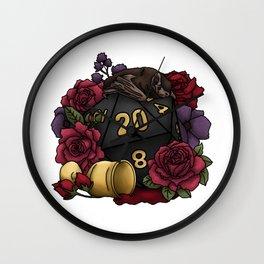 Vampire D20 Tabletop RPG Gaming Dice Wall Clock