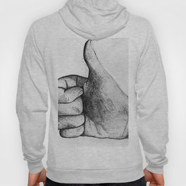 Little thumb's up Hoody