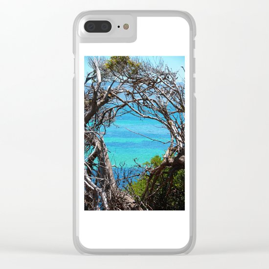 Simons Window Clear iPhone Case