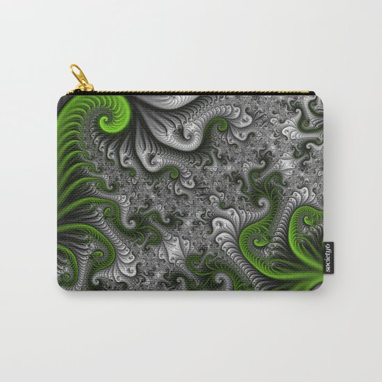 Fantasy World, abstract Fractal Art Carry-All Pouch