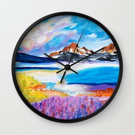 Canyon Sunrise Wall Clock