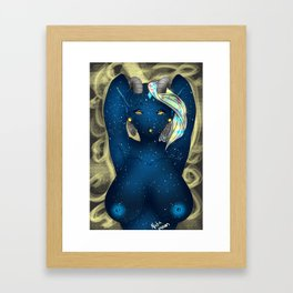 Beautiful Princess Framed Art Print