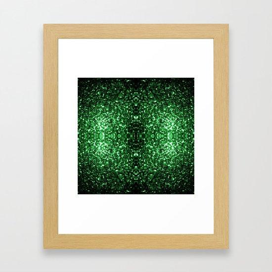 Glamour Dark Green glitter sparkles by pldesign