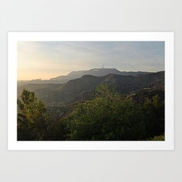 Afternoon Scenery  Art Print