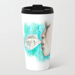 Fish Kiss Travel Mug