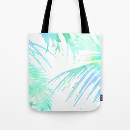 Tropical Abstract Palm Tote Bag