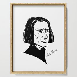 Franz Liszt Serving Tray