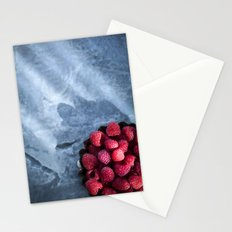 Sunlight and Raspberries Stationery Cards