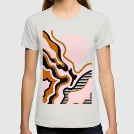 Beautiful Journey - Caramel and Cream T-shirt