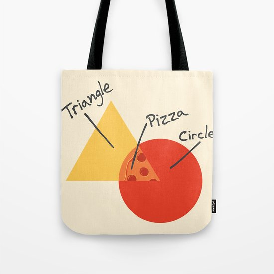 A College Venn Diagram Tote Bag