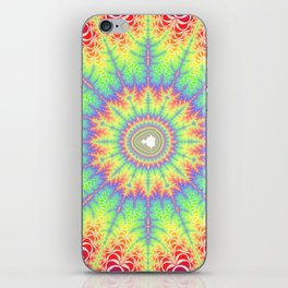 Fractal Sunburst iPhone Skin