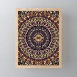 Mandala 252 Framed Mini Art Print