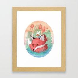 In the Cyclamen Framed Art Print