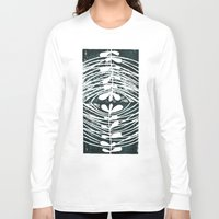mirror Long Sleeve T-shirts featuring mirror by Valeria Kondor